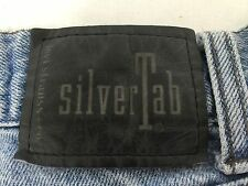 Levis SilverTab Baggy Pleated Jeans 100% Cotton 34W 32L