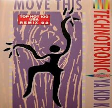 ++TECHNOTRONIC FEAT YA KID K move this/instrumental SP 1992 ON THE BEAT VG++