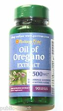 Oil of Oregano Extract 1500 mg 90 Softgels Gluten Dairy Free Natural Capsules