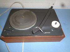 Kleiner Plattenspieler Lenco L 811  aus den 70er Jahren defekt für Bastler
