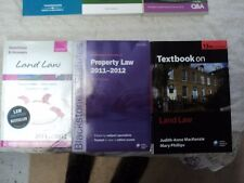 Bundle 3 x Property Law books, LLB, Oxford Q&A