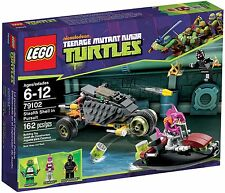 LEGO TMNT 79102 Stealth Shell in Pursuit Verfolgung Teenage Mutant Ninja Turtles