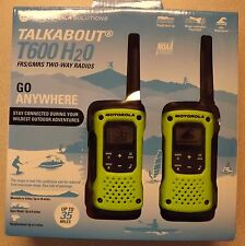 New! Motorola Talkabout T600 H2O Two-Way Radios