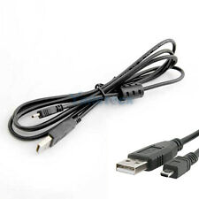 Sony Alpha A100 A200 A300 A330 A350 Camera Charger USB Cable Data Transfer