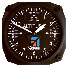 Cessna Altimeter - Aviation Wall Clock by Trintec - CES-9060