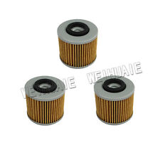 3x OiL Filter for Yamaha YFM700R Raptor 700  2006 2007 2008 2009 2010 2011 2016