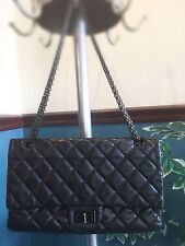 100% Authentic Chanel Reissue 2.55 Double Flap Classic 266