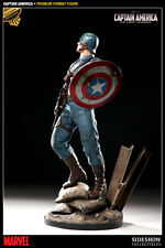 SIDESHOW CAPTAIN AMERICA PREMIUM FORMAT EXCLUSIVE STATUE NEW!! Ltd 500 AVENGERS