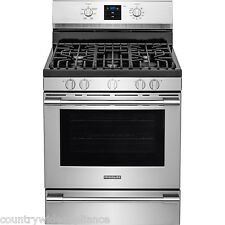 """Frigidaire PROFESSIONAL Stainless 30"""" Gas Range Rear Controls FPGF3077QF"""
