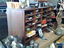 Industrial wooden pigeonholes Retro Midcentury Vintage Storage        In Geelong