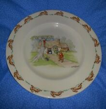 "Royal Doulton Decorative Plate Barbara Vernon Bunnykins 7.5"" Excellent condition"