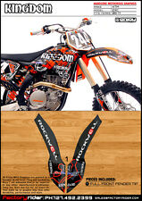 Rockwell  Dirt Bike  Graphics KTM EXC 2008-11 FULL FRONT FENDER GRAPHIC