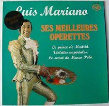 Luis MARIANO (LP 33 Tours)   SES MEILLEURES OPERETTES