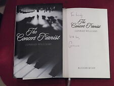 *Signed* CONRAD WILLIAMS 'The Concert Pianist' HB 1st VGC (Sex & Genius)