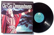ELMER BERNSTEIN The Ten Commandments LP PARMOUNT RECORDS PAS1006 US 1972 2XLP NM