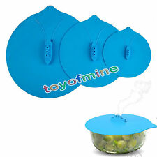 3 Size Steam Ship Steaming Lid Steamship Pot Hot Cover Kitchen Cook Silicone