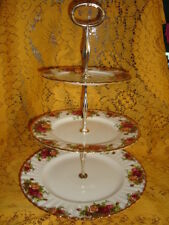 Royal Albert Old Country Roses THREE TIER CAKE STAND