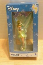 "Disney Tinkerbell Blown Glass 4.5"" Ornament Peter Pan Christmas Tree"