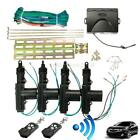 Universal 2 4 Door Car Central Power Door Lock /Unlock Remote Kit 2Keyless Entry