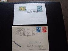 AUTRICHE - 2 enveloppes 1950/1964 (cy93) austria