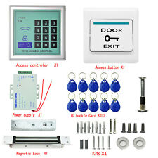 2200LBs Kit RFID Electric Door Lock Magnetic Access Control Card Password System