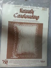 "Naturally Candlewicking Candlewick Puppy Love 1983 # 96 Quilting 5"" x 7""  USA"