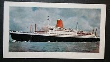 SS BREMEN   North German Lloyd         Illustrated Colour Card