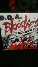 D.O.A. Bloodied But Unbowed - Lp World War 3 New Age Prisoner Enemy Smash State