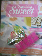 DEAGOSTINI SOMETHING SWEET MAGAZINE ISSUE 41 WITH NUMBERS CUTTERS & EMBOSSERS