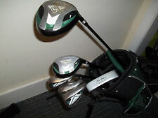 MacGregor Tourney Junior Golf Club Set and Matching Stand Bag, Used