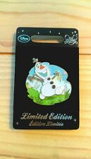 Disneystore Europe UK Olaf in summer pin FROZEN LE 1500