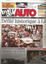 LA VIE DE L'AUTO N°941 RESTAURATION : PEUGEOT 202 / DEFILE A LILLE