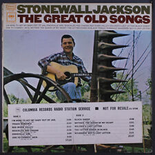 STONEWALL JACKSON: The Great Old Songs LP (2-eye label, djt, wobc, minor cover