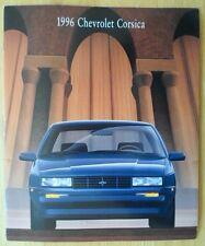 CHEVROLET CORSICA 1996 gamma USA inchiostri BROCHURE CATALOGO