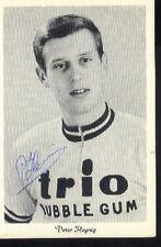PETER HEYNIG cyclisme wielrennen cycling SIGNED TRIO