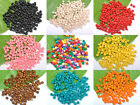 Wholesale Lots 500/1000pcs Wood Spacer Charms Beads Jewelry Make Findings 4MM