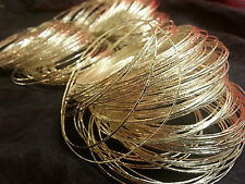 Indian Bollywood BellyDancing Wedding Loose Bangles Silver Plt 10 Pcs Pattern