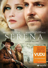 Serena (DVD, 2015, Includes Digital Copy Walmart Exclusive)