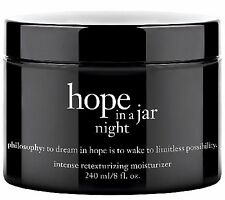 Philosophy HOPE IN A JAR NIGHT 8 oz MASSIVE SIZE!  AMAZING! NEW! -AUTHENTIC READ