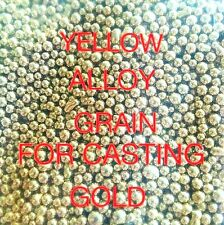 Yellow Alloy Grain FOR CASTING GOLD JEWELRY TOOLS Melt Jewelry Bright*Cast 1 OZ