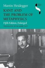 Studies in Continental Thought: Kant and the Problem of Metaphysics by Martin...
