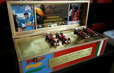 Michael Schumacher 7-Time f1 World Champion BOX FERRARI BENETTON 1:43 pezzo unico