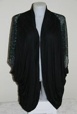 Womens size 24-26 long sheer back cardigan made by AUTOGRAPH