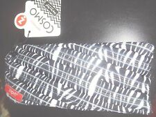 Zipit Pouch Cosmo Unzip your Mind!  Just-zipit.com Black & White NEW