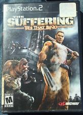 PS2 PlayStation 2 The Suffering Ties That Bind (2005) Zombie Game