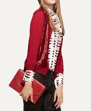 NWT: L'Wren Scott Collection Banana Republic red sequin cardigan. Size s, XS