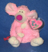 RATZO the RAT - TY PINKYS BEANIE BABY - MINT with MINT TAGS