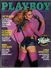 PLAYBOY US 4/1980 April - Linda Ronstadt + Women of the Armed Forces - World