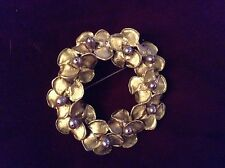 "Michael Michaud Purple Hyacinth 3"" Brooch - 5799"