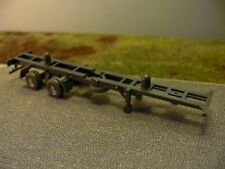 1/87 Wiking 40 ft Container-Chassis grigio scuro 52010